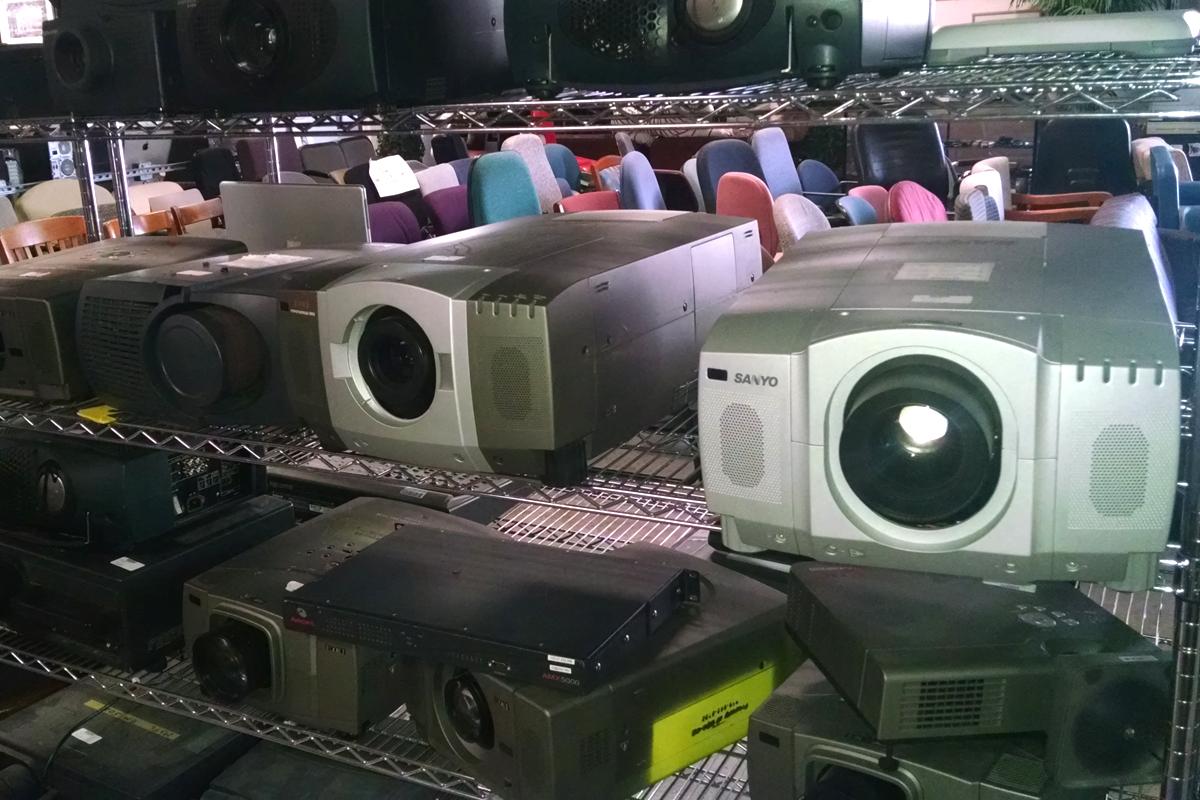 Surplus Retail Store - Projectors