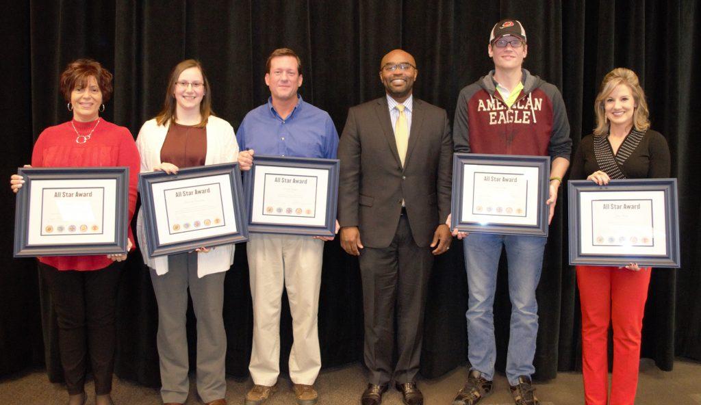 2017 Five Star Award Recipients