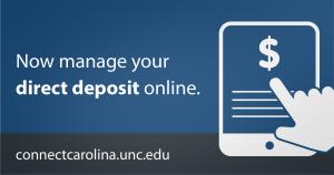 Employee Direct Deposit - Finance