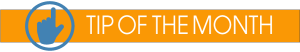 Tip of the Month logo