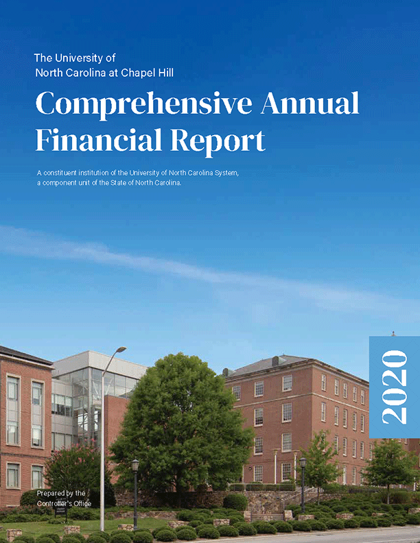 2020 Comprehensive Annual Financial Report Cover