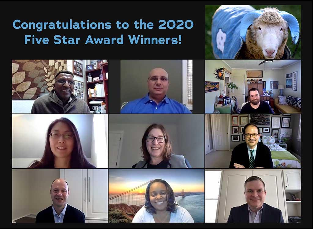 2020 Five Star Award Winners